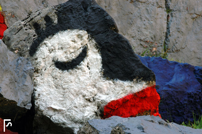 Stone face #2 (dreaming)
