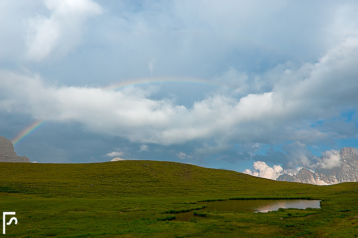 Rainbow over Mondeval